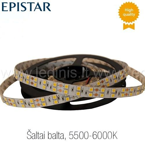 KPU LIGHTING, 28.8W LED juosta 5050 (šaltai balta) (24V)