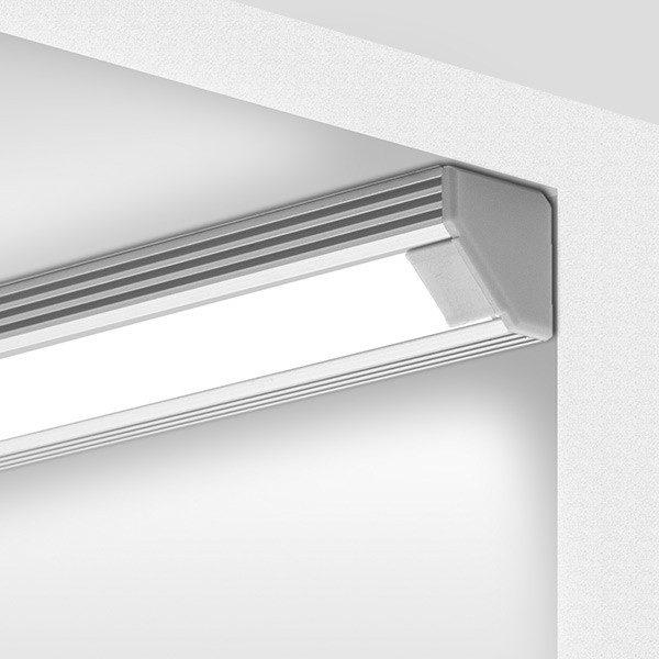 Aliuminio profiliai, 45 Aluminium anoduotas