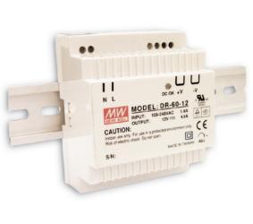 Maitinimo šaltiniai, LED maitinimo šaltinis 60W ant DIN bėgelio