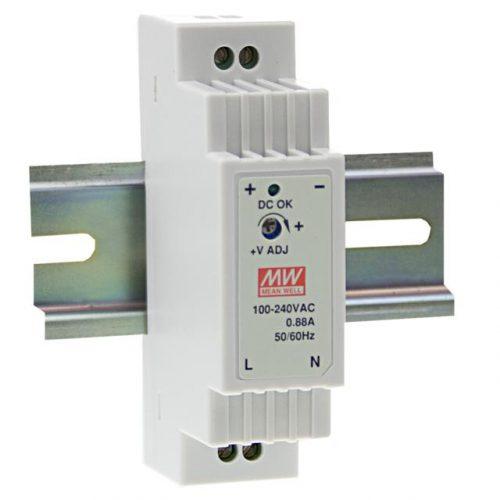 Maitinimo šaltiniai, LED maitinimo šaltinis 16W ant DIN bėgelio