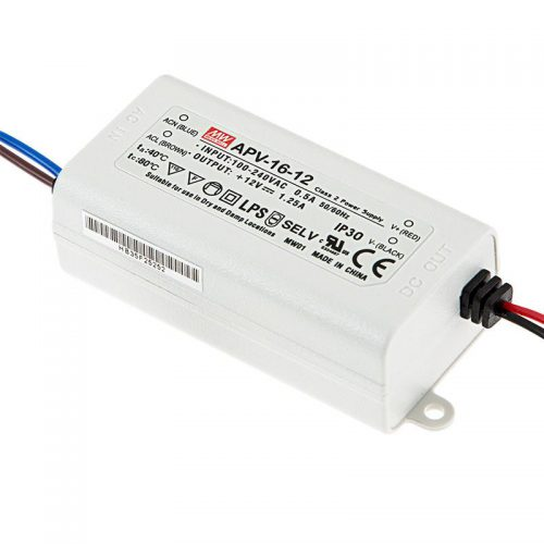 MEAN WELL, LED power supply 16W
