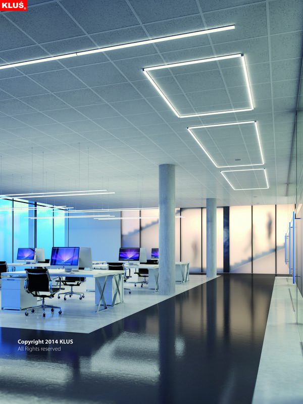 Entertainment and public spaces lighting, GIP Profile Anodized