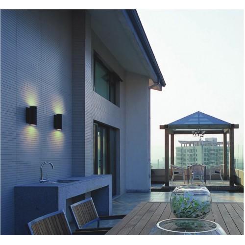 Exterior surface lights, House facade light