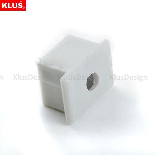 End caps, End Cap PVC PDS4-Alu with hole