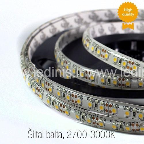 LED ленты, 9.6W Светодиодная лента 3528,герметичный (Тёпло белая) (24V)