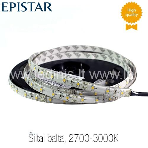 KPU LIGHTING, 4.8W LED juosta 3528, hermetiška (12V)