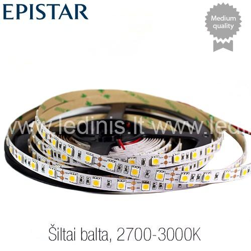 KPU LIGHTING, 14.4W LED juosta 5050 (12V)