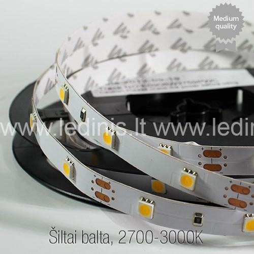KPU LIGHTING, 7.2W LED strip 5050 (medium quality) (12V)