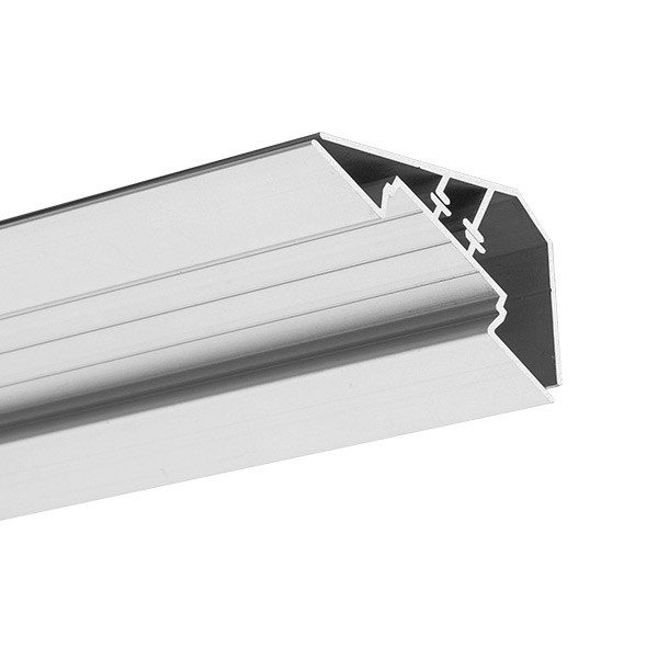 Corner LED profiles, LOC - 30 profile anodised