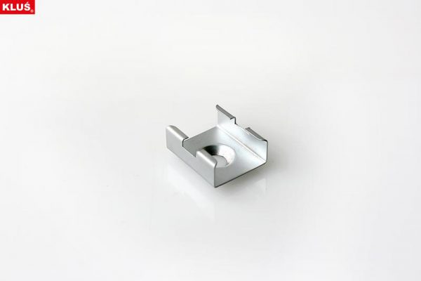Fastener, Mounting bracket for the PDS 4 - ALU; MICRO - ALU, PDS-O profiles, chrome matt