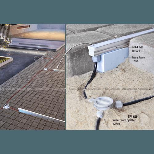 Lauko šviestuvai, LED grindinis šviestuvas, 0.72W