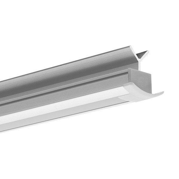 Aluminum profiles, POR anodized, for handrails