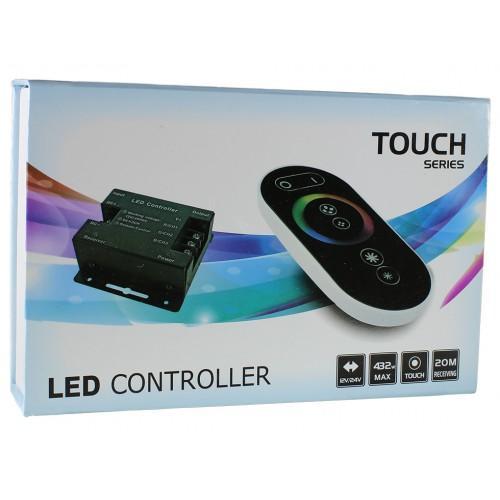 Led apšvietimo valdikliai, LED RGB valdiklis 12-24V