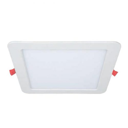 Biurų apšvietimas, Kvadratinė LED panelė su reguliuojama spalvos temperatūra 24W
