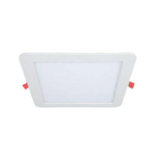 Biurų apšvietimas, Kvadratinė LED panelė su reguliuojama spalvos temperatūra 12W