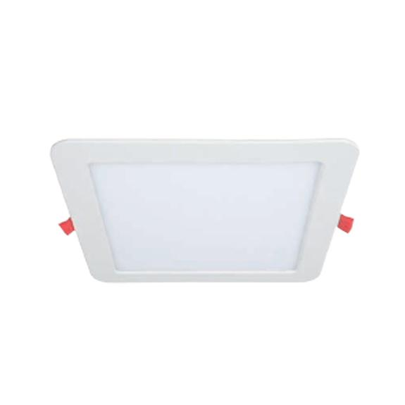 Auxiliary room lighting, Square LED panel with adjustable colour temperature 12W