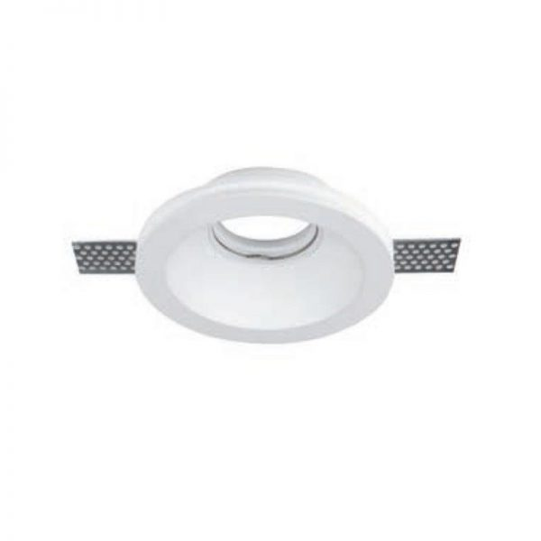 Bedroom lighting, Gypsum light cover 130mm (GU10)