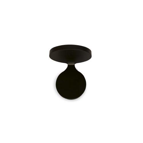 Ineslam, Aliuminis sieninis juodos spalvos šviestuvas