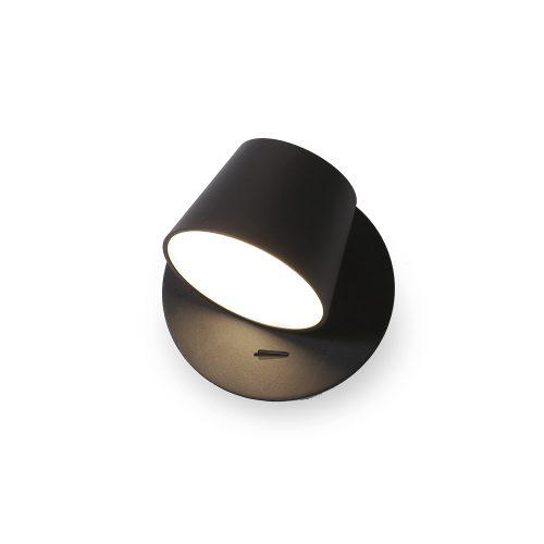 Bedroom lighting, Black wall light