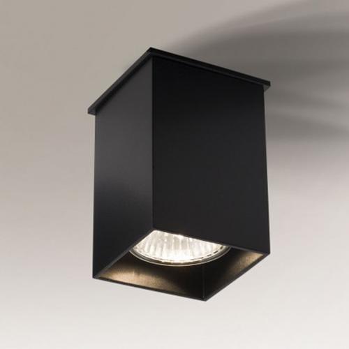Koridoriaus apšvietimas, Lubinis šviestuvas Toda 1101 juodas