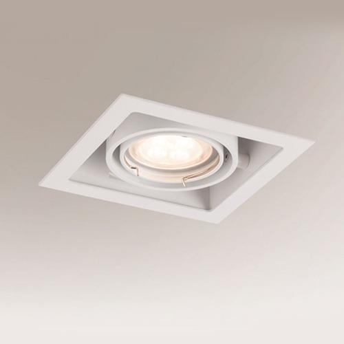 Bedroom lighting, Built-in light Ebino 3304 white