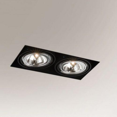 Bedroom lighting, Built-in light Komoro 3309 black