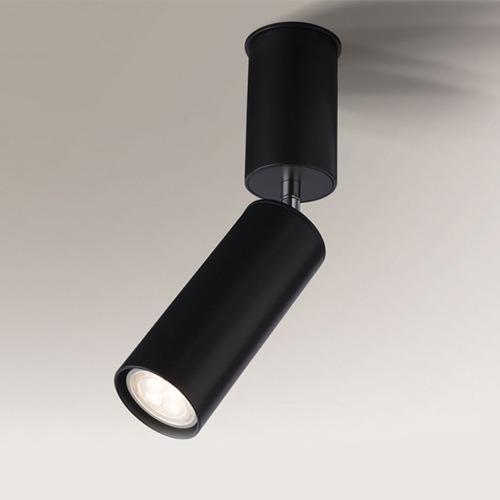 Koridoriaus apšvietimas, Kryptinis šviestuvas Shima 2202 juodas