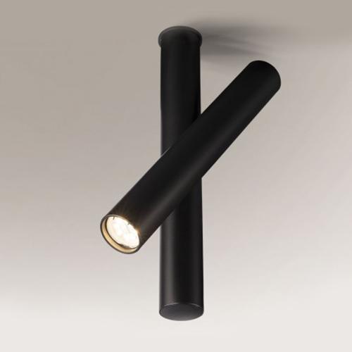 Koridoriaus apšvietimas, Kryptinis šviestuvas Yabu 2243 juodas