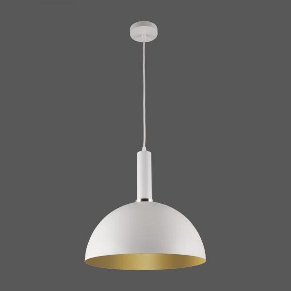 ACB Iluminacion, Pakabinamas šviestuvas TIGO E27 balta/aukso