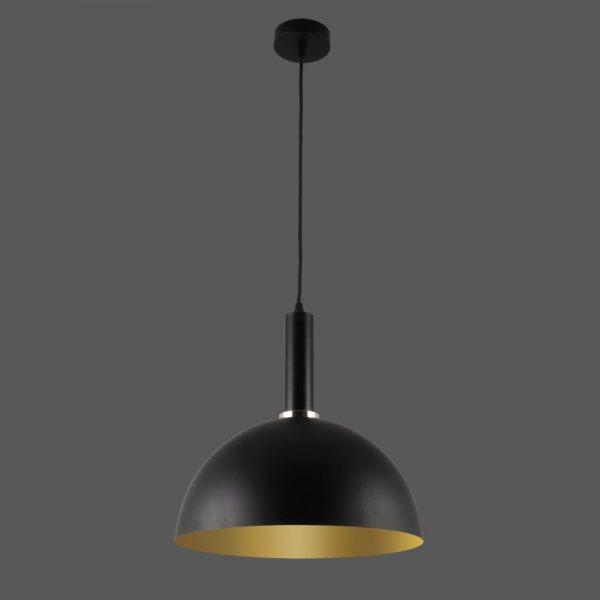 ACB Iluminacion, Pakabinamas šviestuvas TIGO E27 juoda/aukso