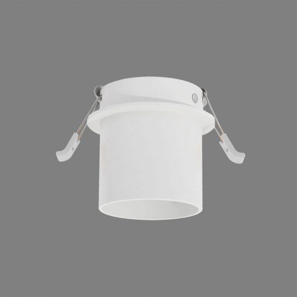 ACB Iluminacion, Įleidžiamas į lubas šviestuvas ZOOM MINI GU10 baltas