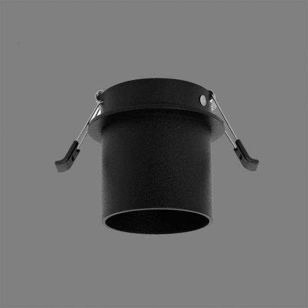 ACB Iluminacion, Įleidžiamas į lubas šviestuvas ZOOM MINI GU10 juodas