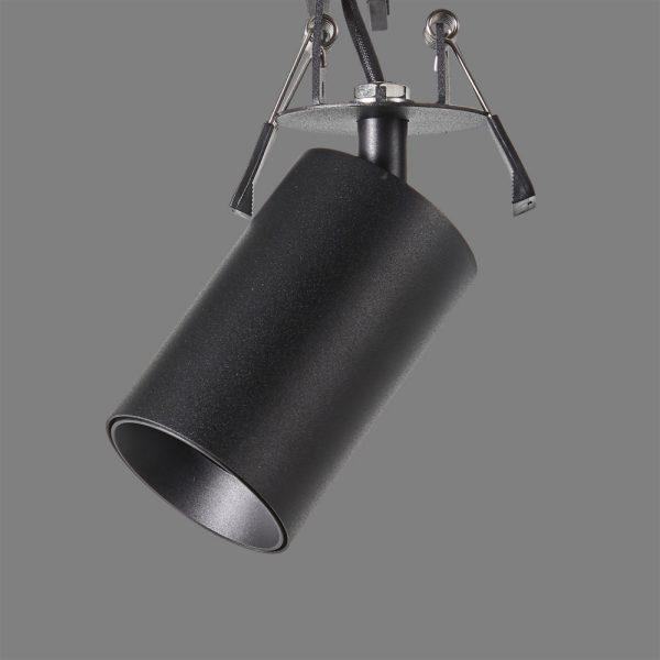 ACB Iluminacion, Recessed ceiling light ZOOM GU10 Black