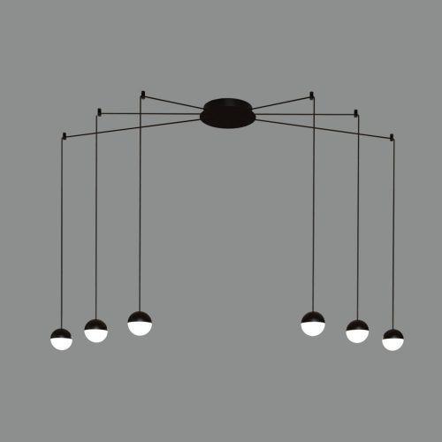 ACB Iluminacion, Pakabinamas šviestuvas CUSTO 6x5W 3000k