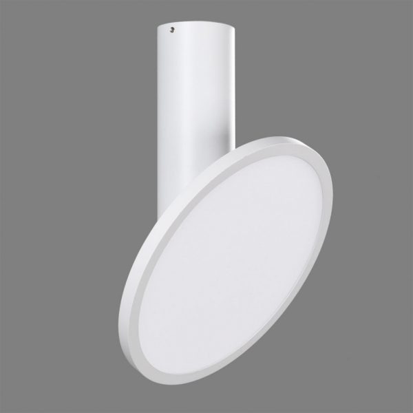 ACB Iluminacion, Tilt ceiling light Morgan 18W LED white