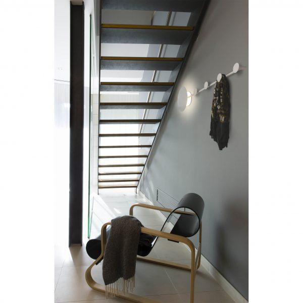 Bedroom lighting, Wall light/coat rack HAN LED 3000k