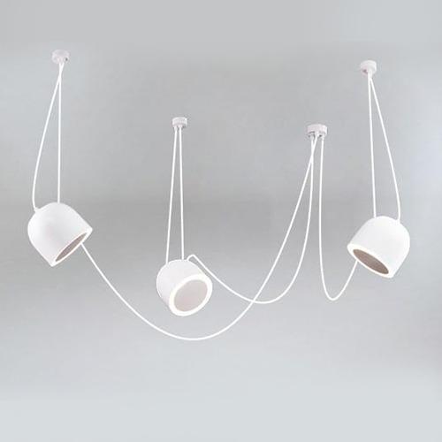 Bedroom lighting, Suspended light DOBO 9037- DOHAR white