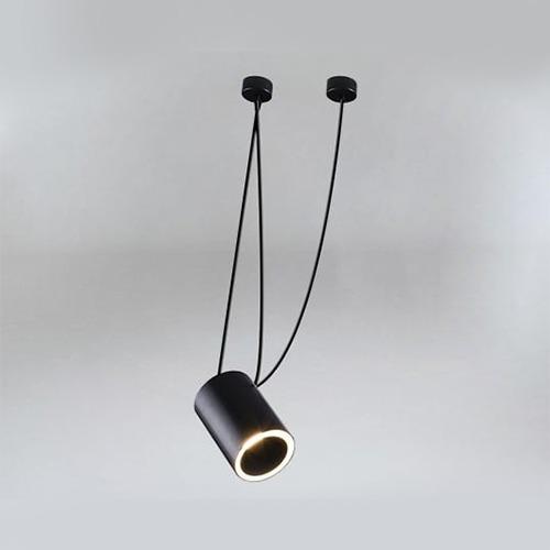 Koridoriaus apšvietimas, Juodas šviestuvas DUBU 9025 DOHAR