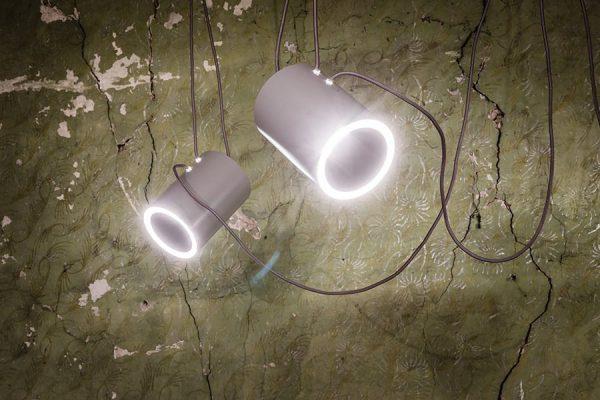 Bedroom lighting, White lamp DUBU 9025 DOHAR