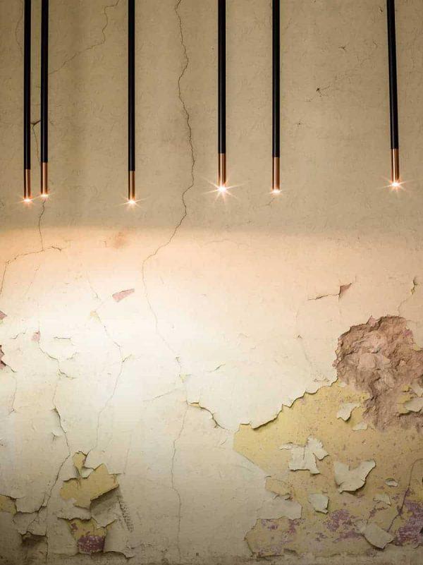 Koridoriaus apšvietimas, Pakabinamas-lubinis šviestuvas alha N 9005- DOHAR baltas