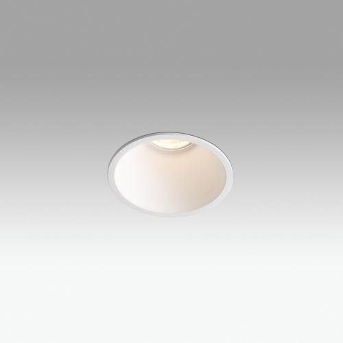 Biurų apšvietimas, Įleidžiamas šviestuvas FRESH GU10 baltas