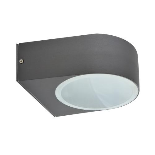 Ideus, Exterior wall light LIMO E27 DARK GREY
