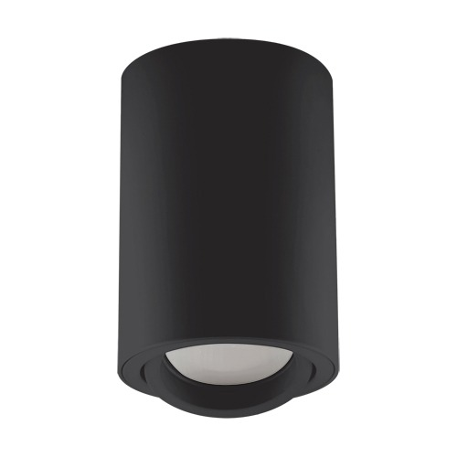 Bedroom lighting, Adjustable ceiling light BEMOL DWL GU10 black