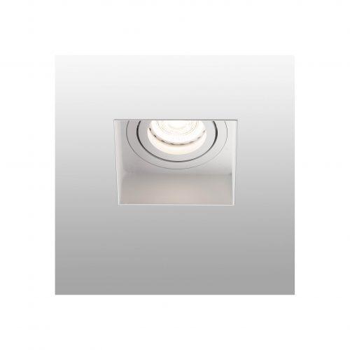 Berėmiai užglaistomi šviestuvai, Įleidžiamas berėmis užglaistomas kryptinis šviestuvas HYDE square baltas