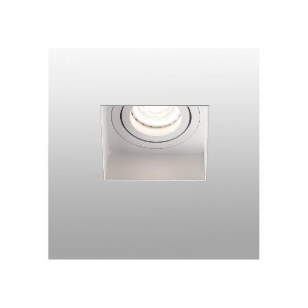 Berėmiai užglaistomi šviestuvai, Įleidžiamas berėmis kryptinis šviestuvas HYDE square baltas