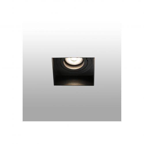Berėmiai užglaistomi šviestuvai, Įleidžiamas berėmis užglaistomas kryptinis šviestuvas HYDE square juodas