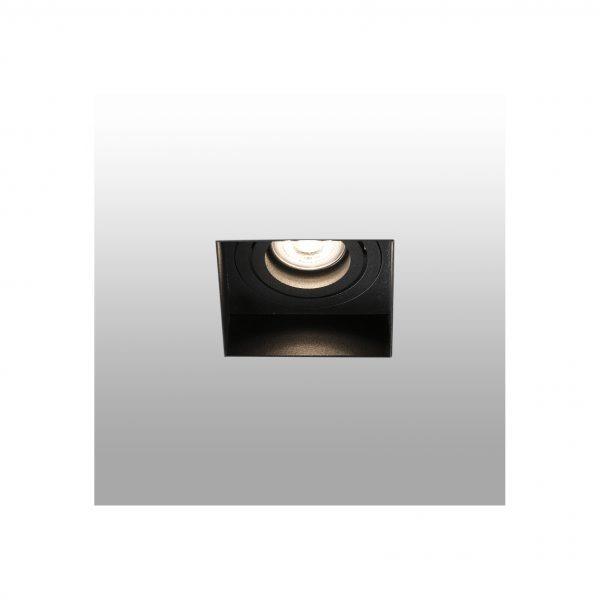 Berėmiai užglaistomi šviestuvai, Įleidžiamas berėmis kryptinis šviestuvas HYDE square juodas