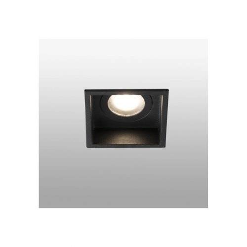 Biurų apšvietimas, Įleidžiamas šviestuvas HYDE square juodas
