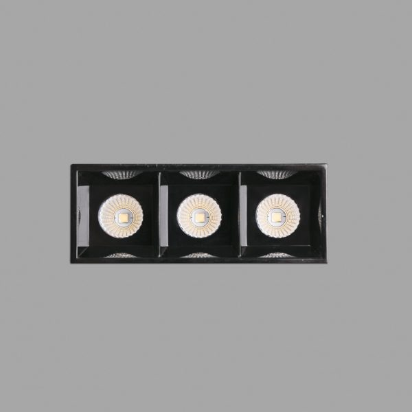 Bedroom lighting, Recessed frameless light TROOP-3