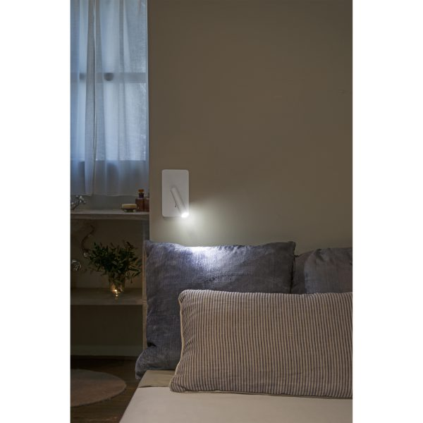 Faro Barcelona, Sieninis šviestuvas SUAU LED baltas